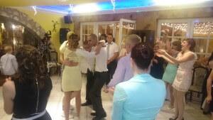Esküvő dj. rendezvény Anitával és Jánossal.