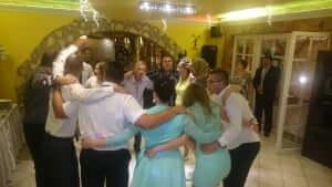 Zorba az esküvői dj. rendezvényen.