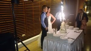 Esküvői dj. buli a Barabás Villában.